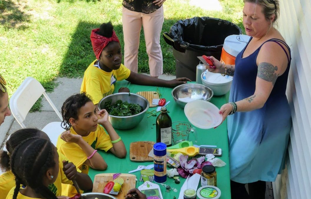 Summer Camp Recipes: Greek Salad and Cucumber Gazpacho