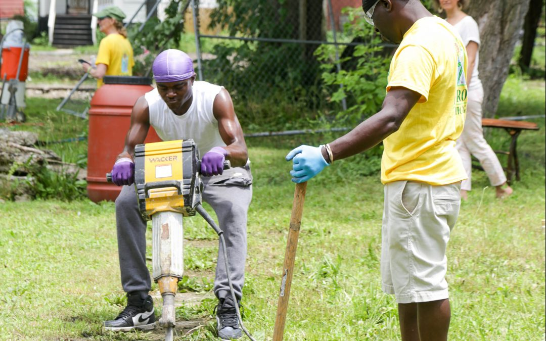 Reclaim, renew, restore: Breaking Ground on the Play Lot